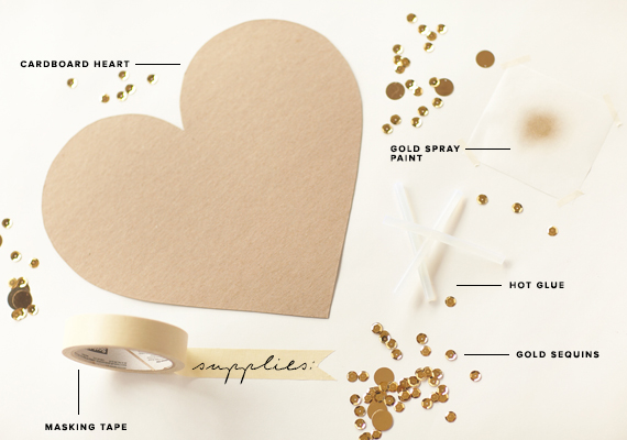 diy-gold-sequin-heart-1