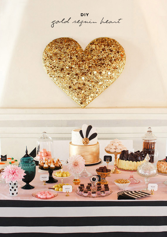 diy-gold-sequin-heart-8